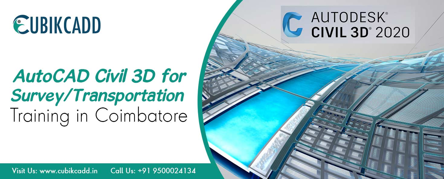 AutoCAD Civil 3D for Survey/Transportation Training in Coimbatore