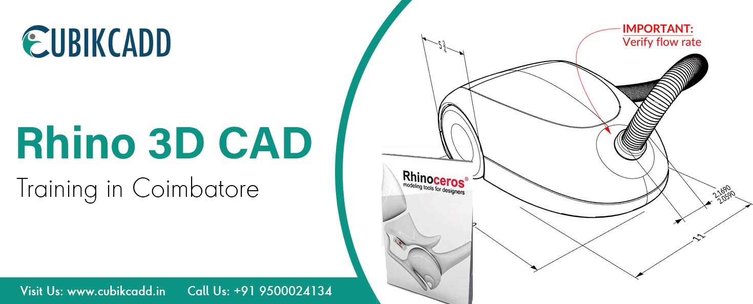 Rhino 3D CAD Training in Coimbatore | Rhino 3D CAD Training courses in Coimbatore